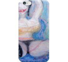 Woman and Bird 3 iPhone Case/Skin