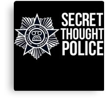 Secret Thought Police Canvas Print