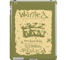 Wanted - One-Eyed Kidz iPad Case/Skin
