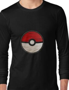 Pokeball vs Pokemon Long Sleeve T-Shirt