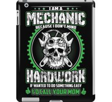 i am a mechanic iPad Case/Skin