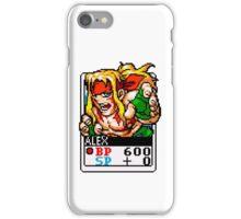 Alex - Street Fighter iPhone Case/Skin