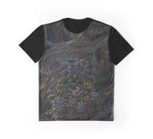 Trippy Fractal Design Graphic T-Shirt