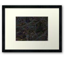 Trippy Fractal Design Framed Print