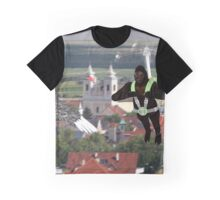 Gorilla With Heli Jetpack Graphic T-Shirt