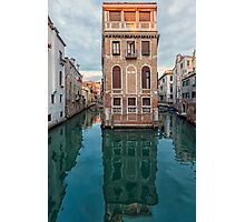 Living on a Venice intersection Photographic Print