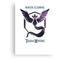 Team Mystic Print - GO! Canvas Print