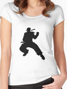 Ryu T-Shirt Women's Fitted Scoop T-Shirt