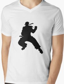 Ryu T-Shirt Mens V-Neck T-Shirt