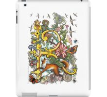 "The Illustrated Alphabet Capital  R  ""Getting personal"" iPad Case/Skin"