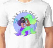 SAVE THE OCEAN: mermaids Unisex T-Shirt