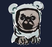 Pug in the hood One Piece - Short Sleeve