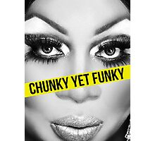 Chunk yet Funky Photographic Print