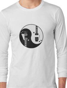 Yin Yang - Guitars Long Sleeve T-Shirt
