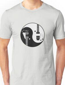 Yin Yang - Guitars Unisex T-Shirt