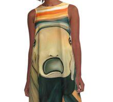 The Scream A-Line Dress