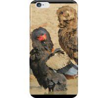Bateleur Eagle - African Wildlife - Animal Parents iPhone Case/Skin