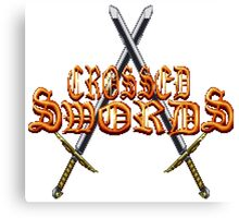 Crossed Swords Canvas Print