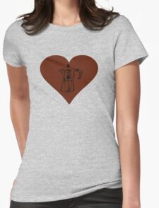 Love for the Moka Pot Womens Fitted T-Shirt