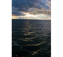 Majestic Rays on the Lake Photographic Print