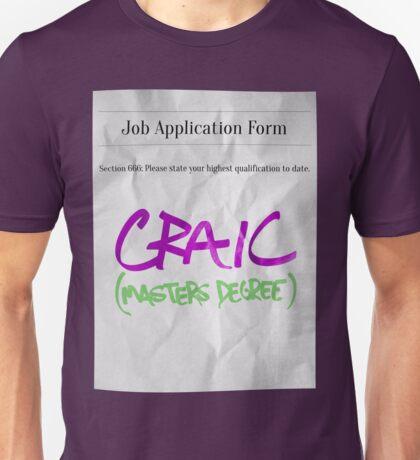 CRAIC Unisex T-Shirt