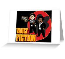 Vault Fiction Greeting Card