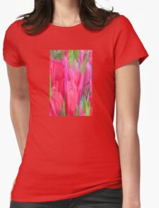 Tulip Impression Womens Fitted T-Shirt