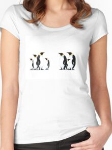 Penguins Women's Fitted Scoop T-Shirt