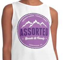assorted goods and candy Contrast Tank