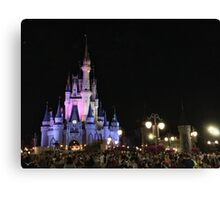 Magic Kingdom at Night Canvas Print