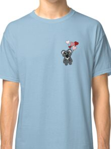 Koala with heart balloons Classic T-Shirt