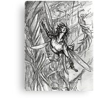 Fey in Flight Canvas Print