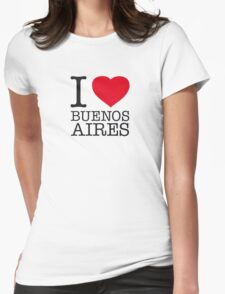 I ♥ BUENOS AIRES Womens Fitted T-Shirt