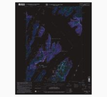 USGS TOPO Map Alaska AK Seward A-3 358865 2000 63360 Inverted Baby Tee