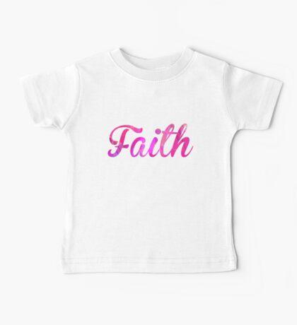 Faith Baby Tee