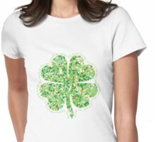 Irish Blessing: May the Road Rise Up to Meet You Womens Fitted T-Shirt