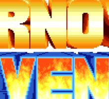 Karnov's Revenge / Fighter's History Sticker