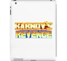 Karnov's Revenge / Fighter's History iPad Case/Skin