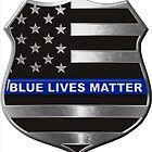 Blue Lives Matter by lawrencebaird