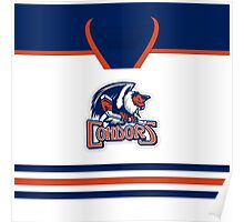 Bakersfield Condors Home Jersey Poster