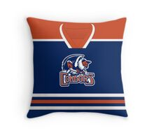 Bakersfield Condors Away Jersey Throw Pillow