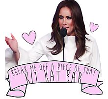 Melania Trump/Laura Benanti - Kit Kat Photographic Print