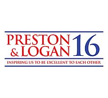 VOTE PRESTON & LOGAN 16 C Photographic Print