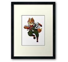 Fox Mccloud  Framed Print