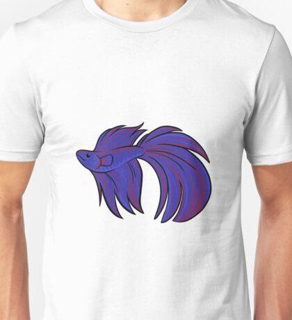 Cutie Pets - Veiltail Betta Unisex T-Shirt