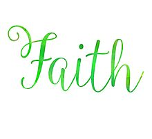 Faith Photographic Print