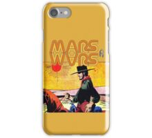 Mars Travels. iPhone Case/Skin