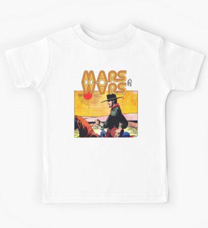 Mars Travels. Kids Tee