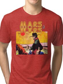 Mars Travels. Tri-blend T-Shirt