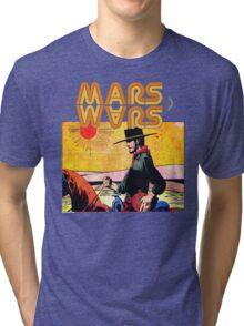 Mars Travels. Tri-blend T-Shirt